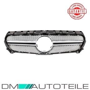Sport Honeycomb Front Grille Black Silver fits on...