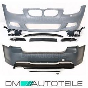 Sport Bumper Kit Set ABS Front + Rear + Fogs w/o  PDC...