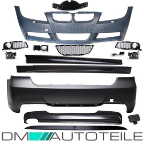 Bumper Body Kit Front rear Side Skirts without park...