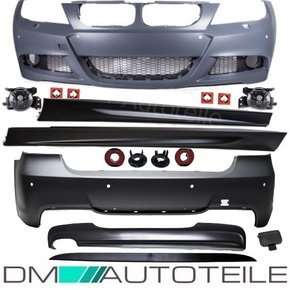Set Bumper Body Kit complete ABS + accessories fits on...