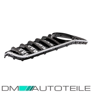 Sport-Panamericana GT Front Grille Black Gloss fits on Mercedes E-Class Coupe Convertible A207 C207 up 2009-2013