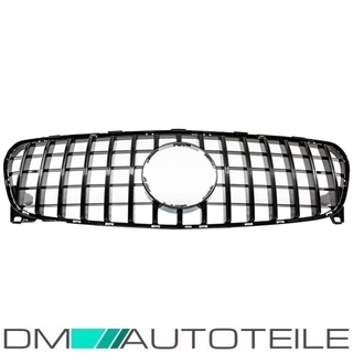 Sport-Panamericana GT Kidney Front Grille Black Gloss fits Mercedes GLA X156 Facelift up 2017