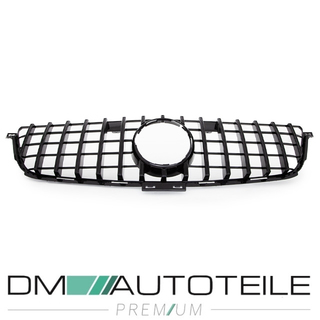 Sport-Panamericana GT Front Grille Black Gloss fits Mercedes ML W166 Year 11-15