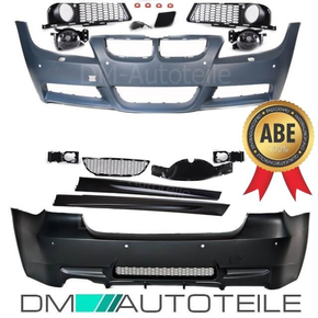 bodykit complete Bumper ABS fits on BMW E90 05-08  park...