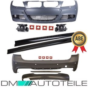 Estate Wagon Bodykit Bumper PDC FACELIFT fits on BMW E91...