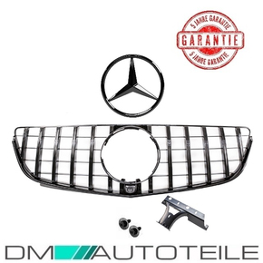 Sport-Panamericana GT Front Grille Black+Star fits on...