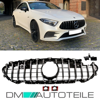 Sport-Panamericana GT Kidney Front Grille +Star fits Mercedes C257 CLS up 2018