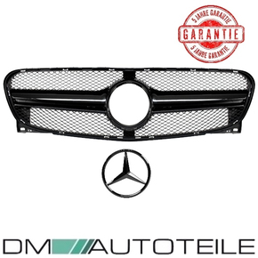 Kidney Honeycomb Front Grille Black Gloss +Star painted...