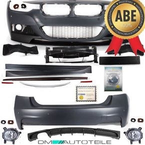 Sport Performance FULL Bodykit Bumper Front Rear Side...