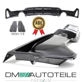 CARBON GLOSS PERFORMANCE Rear Diffusor fits on BMW F32...