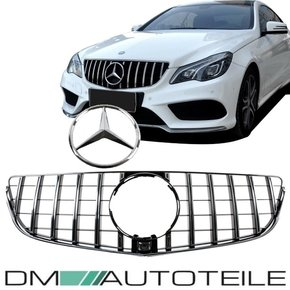 Sport-Panamericana Front Grille Chrome Black Mercedes...