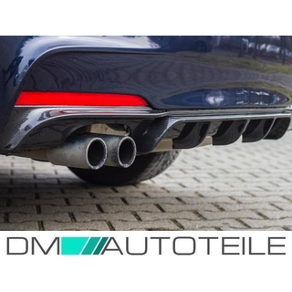 PERFORMANCE Rear Diffusor Black fits on BMW F30 F31 328-330 M-Sport Bumper TÜV