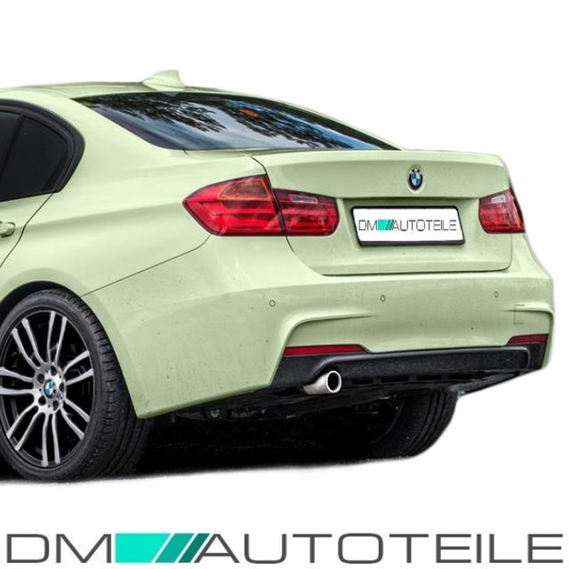 bmw f30 f31 rear diffuser sport for m sport bumper 11 17. Black Bedroom Furniture Sets. Home Design Ideas