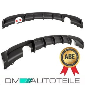 Performance Rear Diffusor Bumper Splitter fits on BMW F30...
