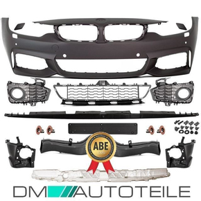 SPORT FRONT BUMPER ABS COMPLETE fits on BMW 4 F32 F33 F36...