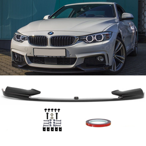 Sport-PERFORMANCE Spoiler Splitter Black fits on BMW F32...