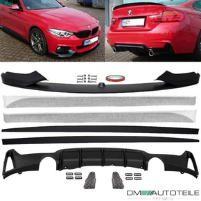 Set Sport-Performance Spoiler Side Blades + Diffusor 435...