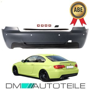 Sport Rear Bumper PDC+ Diffusor fits on BMW 3-series E92...