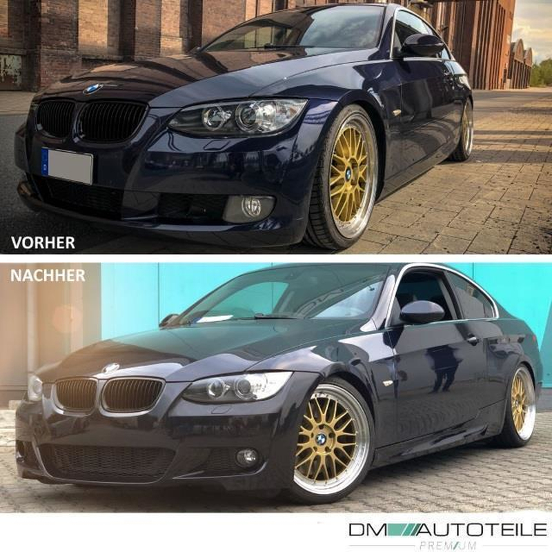 Sport Front Bumper 06 10 Fogs Fits On Bmw E92 E93 Pdc Washers Series Or M Sport