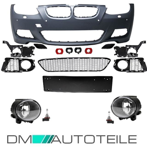 Sport Front Bumper 06-10 +Fogs fits on BMW E92 E93...