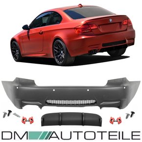 Sport Rear Bumper Coupe Convertible fits on BMW E92 E93...