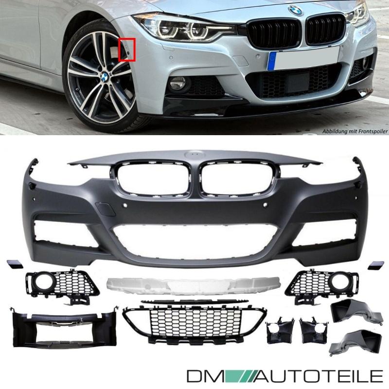 Bmw F30 F31 Sport Front Bumper For 6 Park Assist Sensors Headlamp