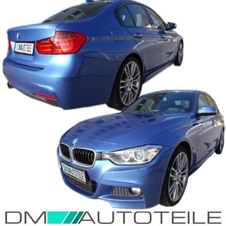 Sport Modification Bodykit Front Bumper Sides Rear Side View Accessories Fits On Bmw 3 Series F30 Standard Or M Sport 11 15