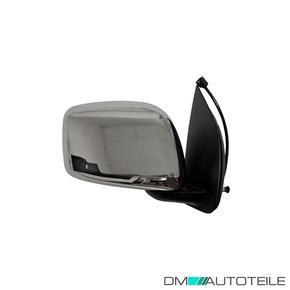 Links Fahrerseite Spiegelglas Außenspiegel für Nissan Navara 2009-2019