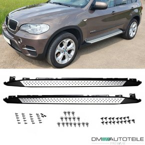 Set Running Boards Side Steps Skirts...