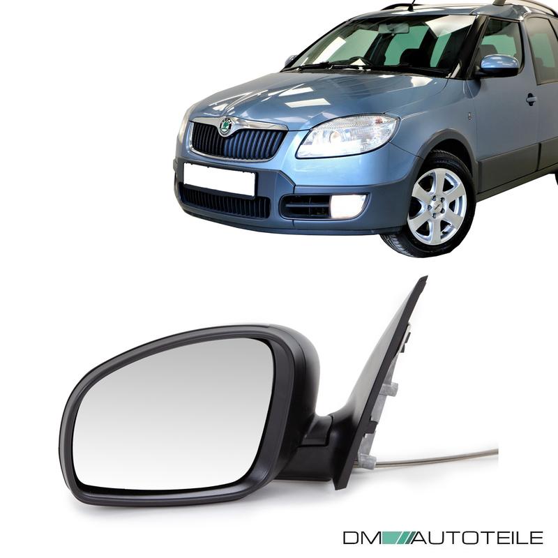 Spiegel Spiegelglas links Skoda Fabia Roomster Praktik ab 2006 asphärisch