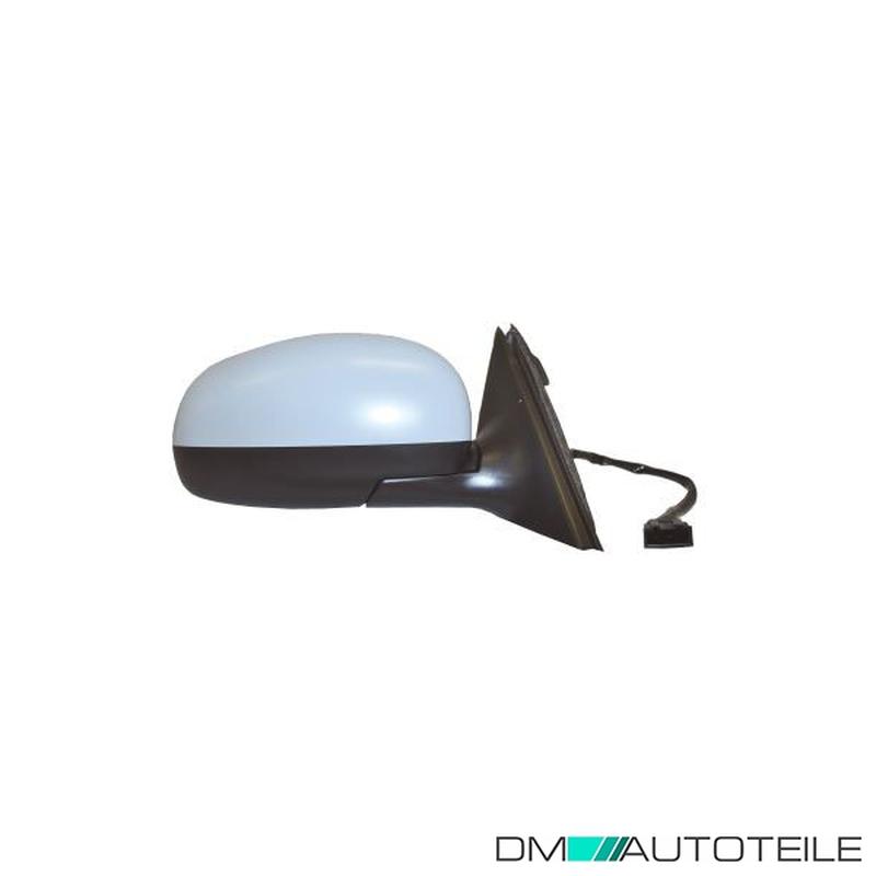 Spiegel Außenspiegel für Skoda Fabia 2 5J rechts Beifahrerseite