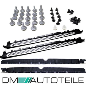Set of Running Board Aluminium + Accessoires fit son BMW...
