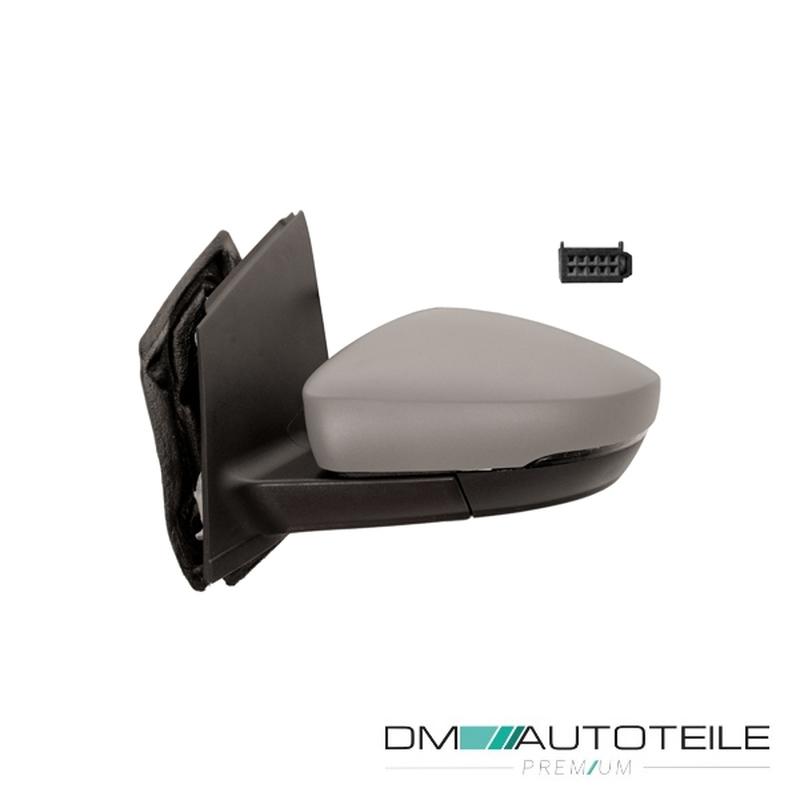 Rechts Asphärisch Spiegelglas Beheizbar für Volkswagen Polo 2009-2017