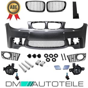 SPORT Front Bumper PDC +Grille + Fogs Smoke fits on BMW...