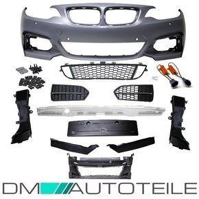 Front Bumper with park assist without headlamp washers +...