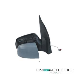 DM Autoteile Au/ßenspiegel links kpl grundiert elektr mit Blinklicht passt f/ür Focus II