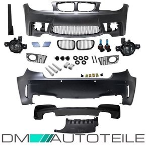 Set Bodykit Bumper suitable for BMW 1-series E81 E87...