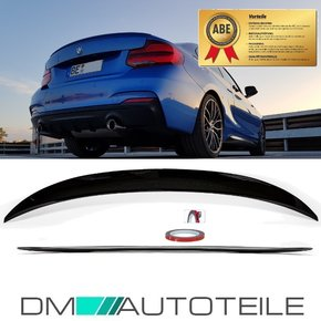 Sport- Performance Rear Trunk Roof Spoiler Lip Black...