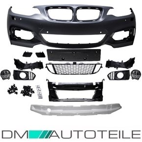 Sport Front Bumper PDC  fits on BMW 2-Series F22 F23...