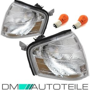 Mercedes C W202 S202 93-00 Front indicator Set white...