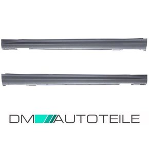 Mercedes W204 Side Skirts 07-14 ABS + accessories for C63...