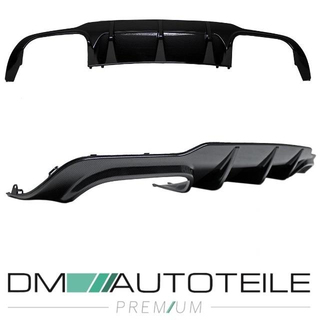 Mercedes C W204 S204 rear Diffuser 4-pipe Carbon Facelift 11-14